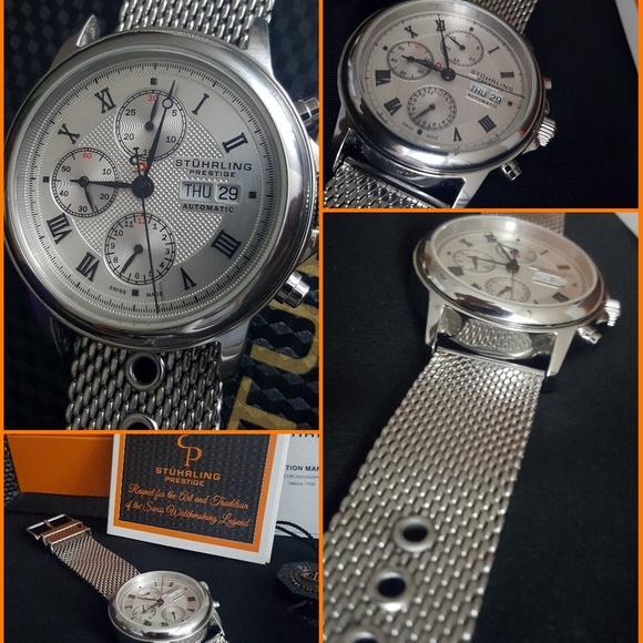 Stuhrling Original Accessories Stuhrling Prestige 36233152 Swiss